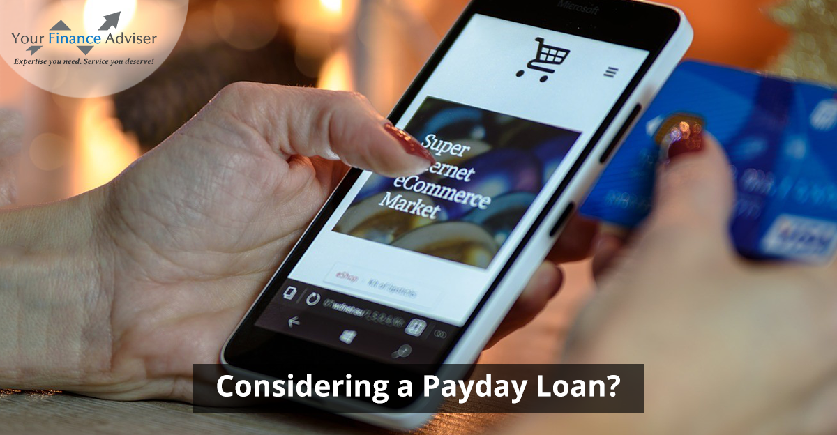Considering a Payday Loan?